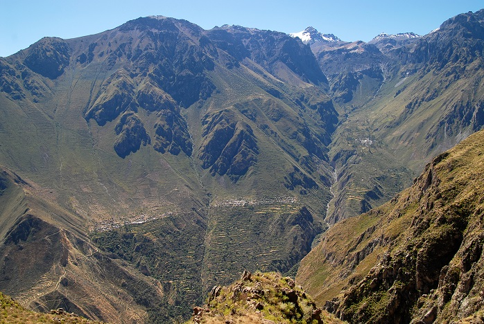 トマトの原産地のアンデス山脈