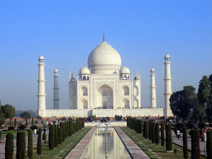 ナスの原産地インドのタージマハル