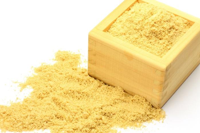 肥料として使う米ぬかの写真