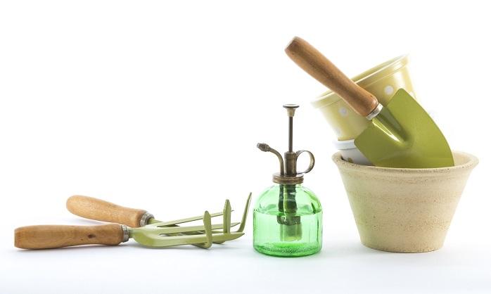 スコップなどの園芸用品