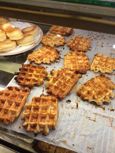 【30】戦争博物館の帰りに寄ったお店で食べたベルギーワッフル