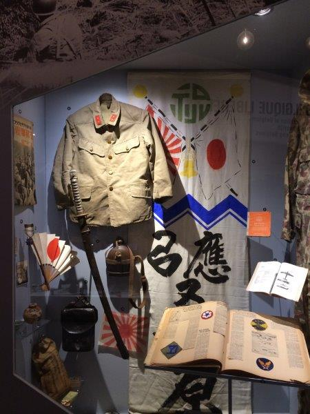 【23】日本軍に関する展示