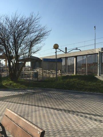 【13】スペイン国境側のIRUNN FICOBA駅