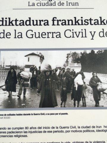 【18】スペインからフランスへ避難する人たち