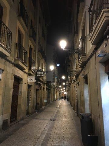 【1】サン・セバスチャンの旧市街