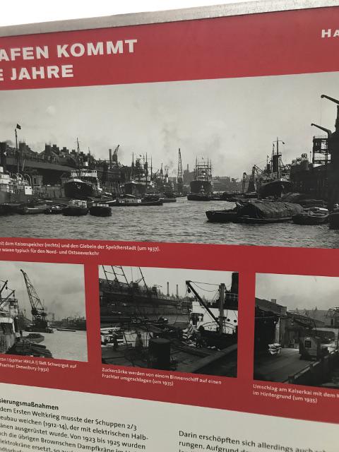 大空襲を受ける当時のハンブルク