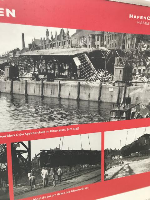 戦争直後のハンブルクの様子