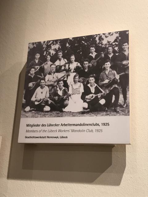 リューベックの労働者で結成された音楽クラブ