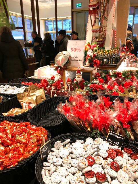 ハンザ商人によってもたらされたリューベックの伝統的なお菓子、マルツィパン