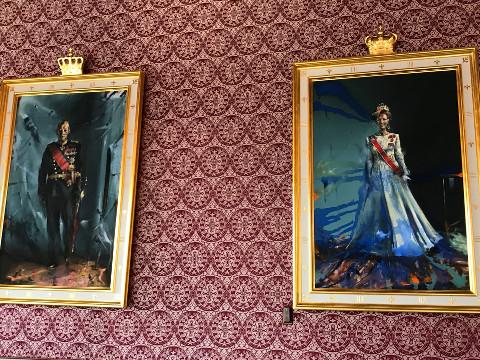 現国王ハーラル五世夫妻