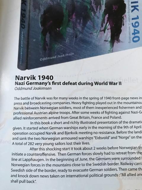 戦争博物館で販売されていたパンフレット