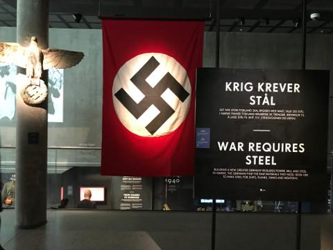 戦争博物館に入って最初に目につく展示