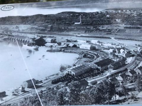 1935年のナルヴィク港