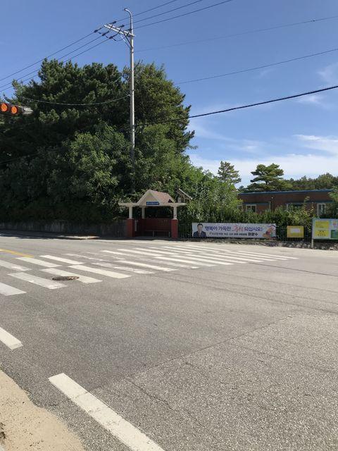花津浦のバス停