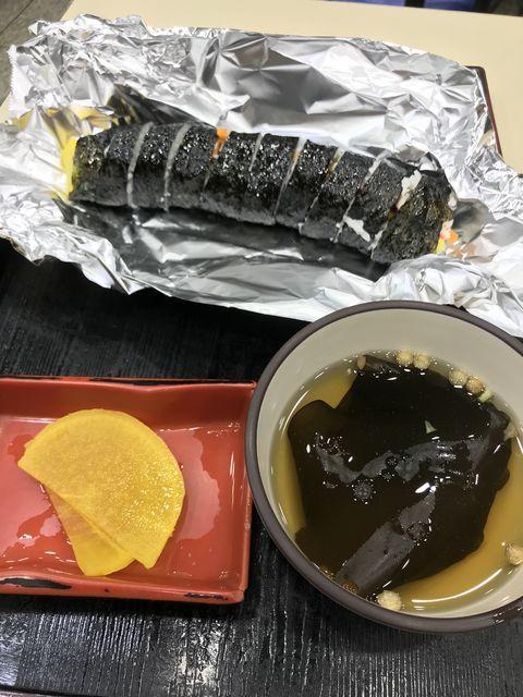 韓国の巻きおにぎりは安くて家庭的な味