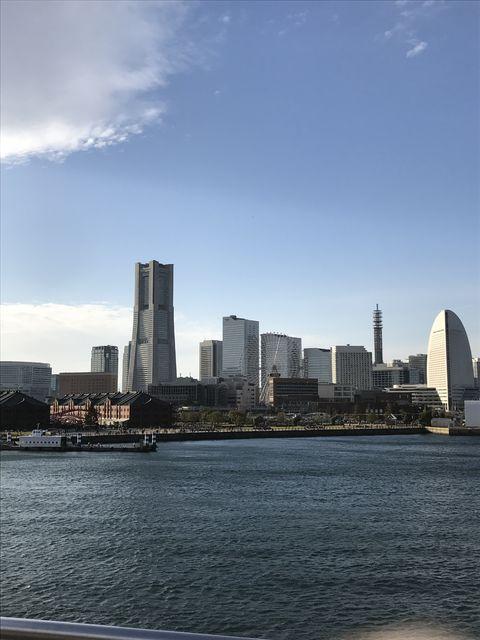 現在の横浜港