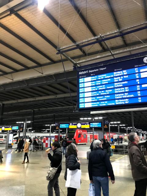 現在のミュンヘン駅