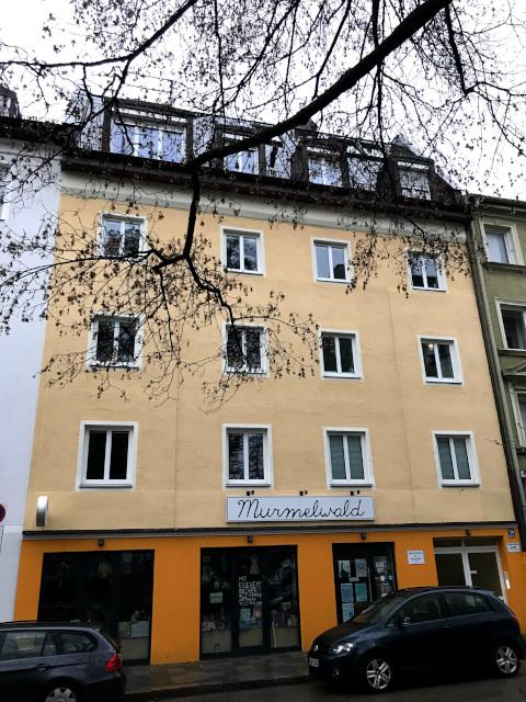 ヒトラーが下宿していた仕立屋、現在では子供服店
