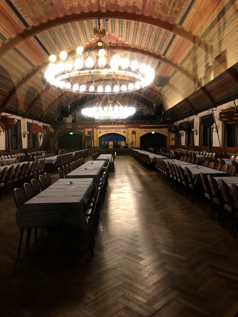 ヒトラーの演説が行われていた3階のイベントホール