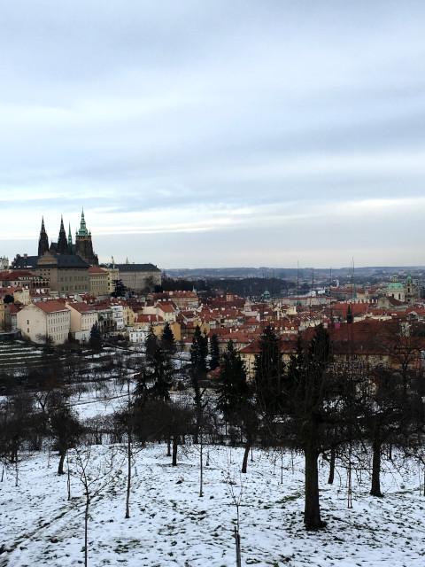 ヒトラーに狙われたチェコの首都のプラハ