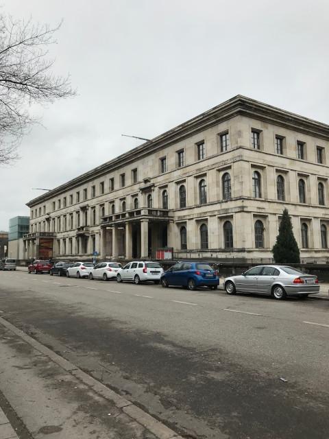 ミュンヘン会談が行われた旧総統館。現在は音楽大学