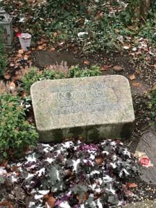 ロンメルの妻、ルーシーの墓