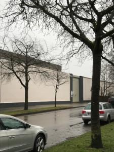 シュターデルハイム刑務所の塀