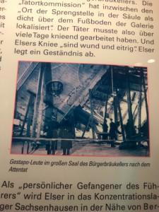 暗殺未遂事件直後のビュルガーブロイケラー