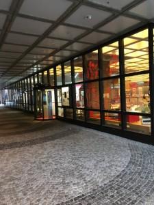 ガスタイク文化センターの入口