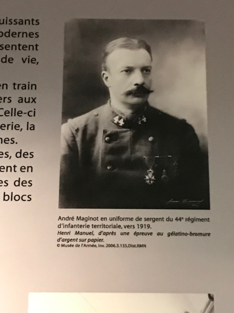 マジノ線を提唱した陸軍大臣、アントレ・マジノ