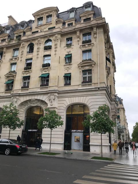 ドイツ軍司令部が置かれたホテル
