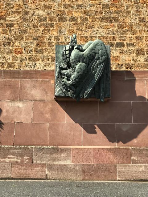 モンテ・カッシーノの戦いを表す碑