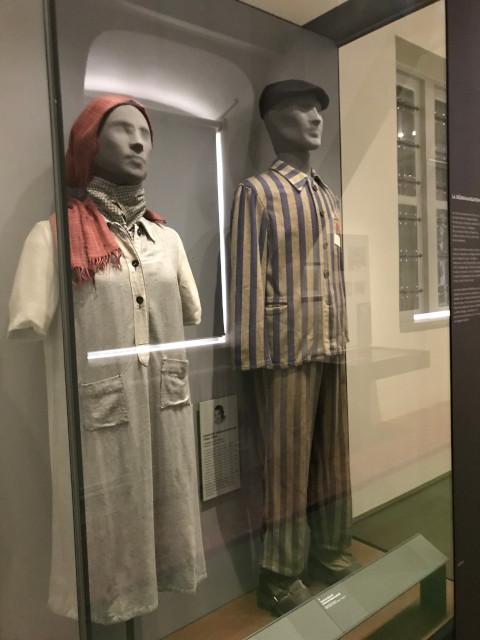 パリの軍事博物館にある、収容所のユダヤ人の人形