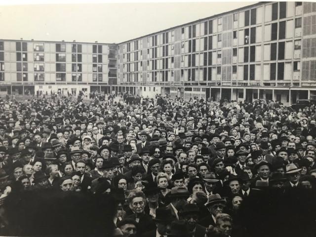 ドランシー強制収容所に集められたユダヤ人
