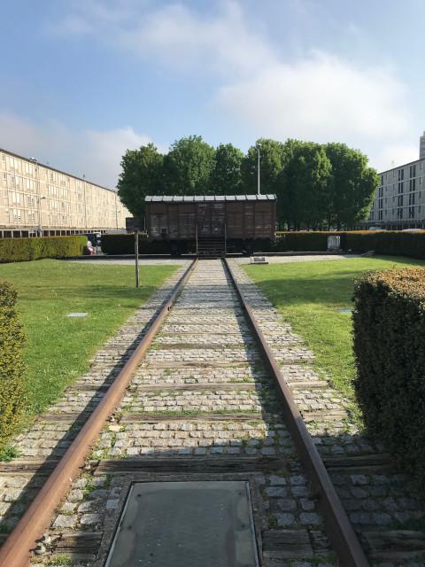 ユダヤ人の移送に使われた貨車