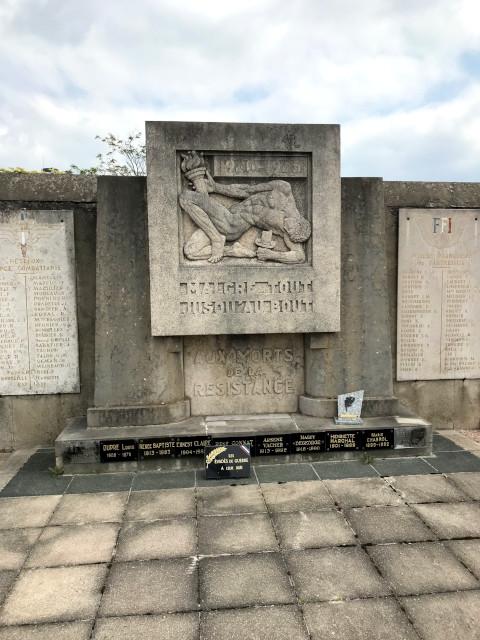レジスタンスの墓