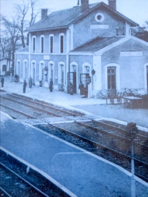 1940年当時のモントワール駅