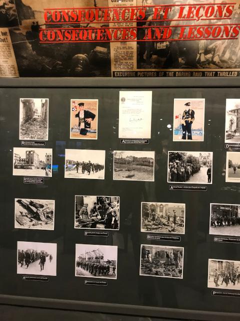 当時の写真は、降伏後のカナダ兵たちの写真が多い