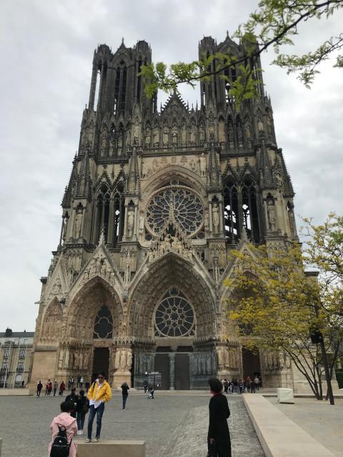 ランスのノートルダム大聖堂
