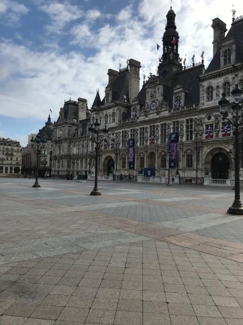 パリの市庁舎