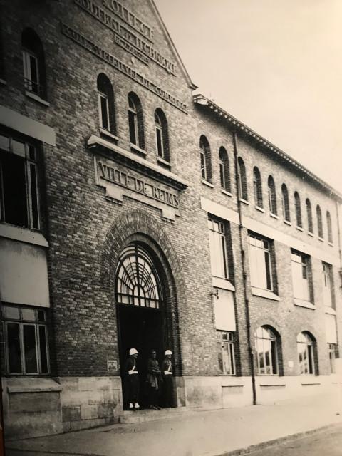 当時の降伏調印が行われた建物