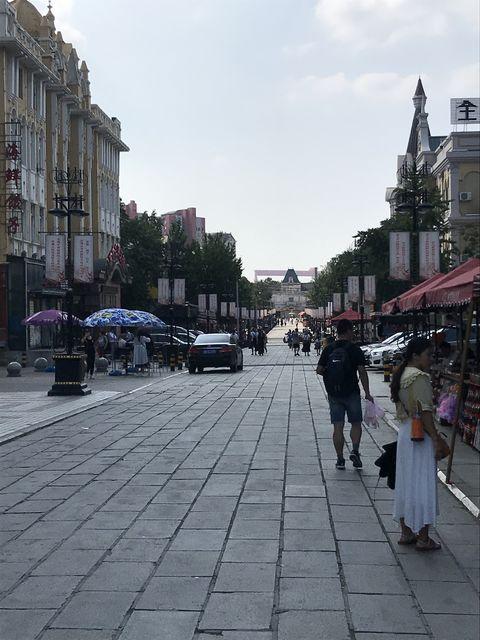 大連に残る旧ロシア人街