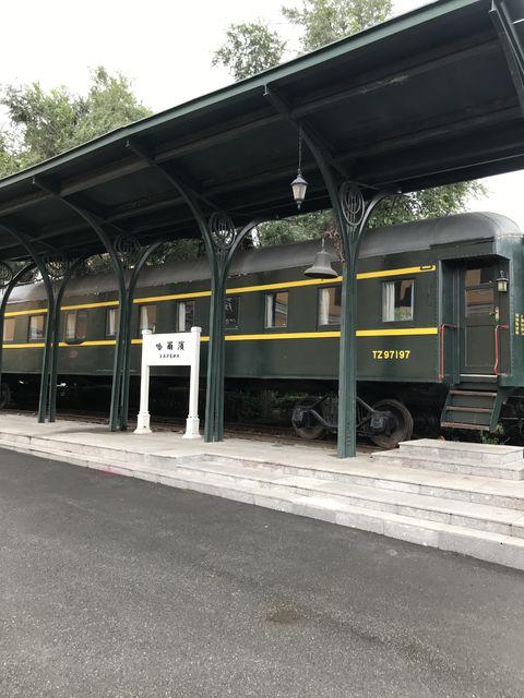 かつて南満州鉄道で使われていた車両