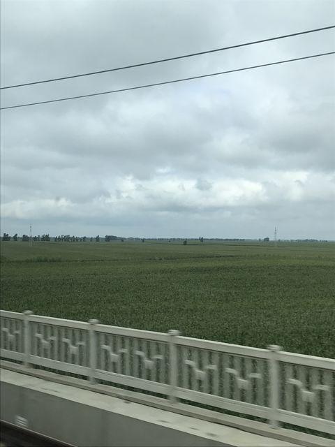 列車から見える日本が狙った中国東北地方の広大な土地