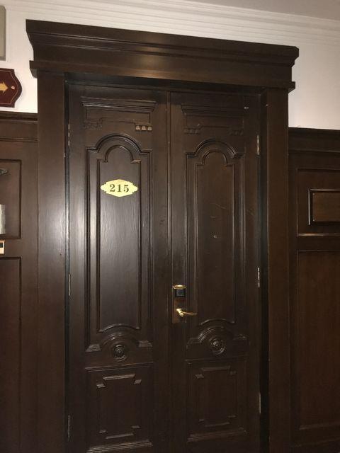 張学良が宿泊した215号室