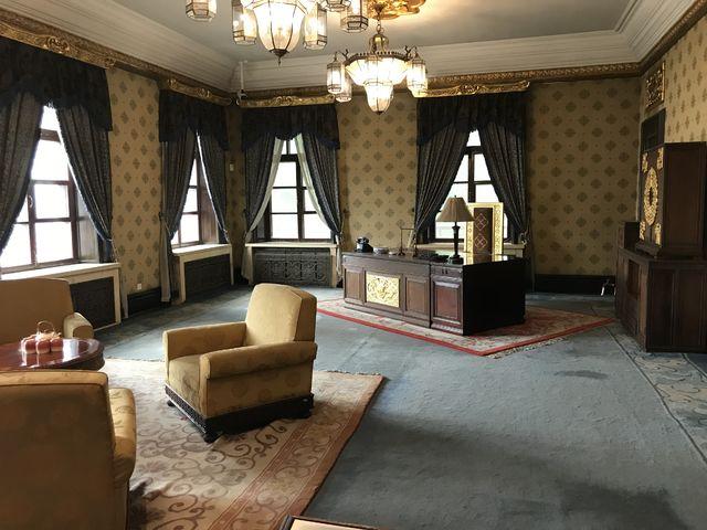 溥儀の執務室