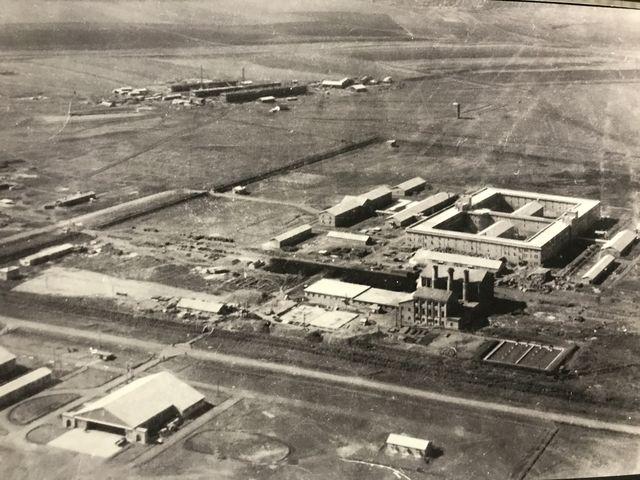 当時の731部隊の施設