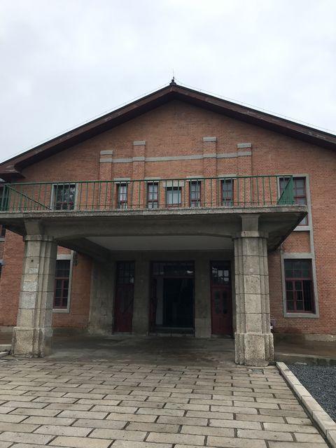 731部隊の本部だった建物