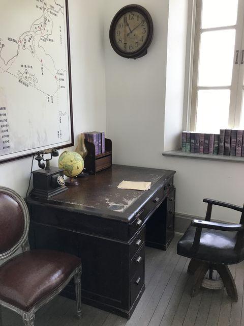 当時の税関の執務室