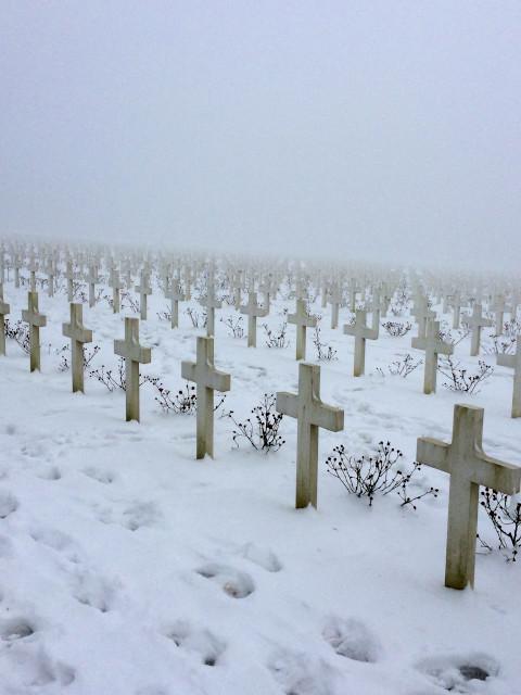 ヴェルダンの戦いの戦死者の墓